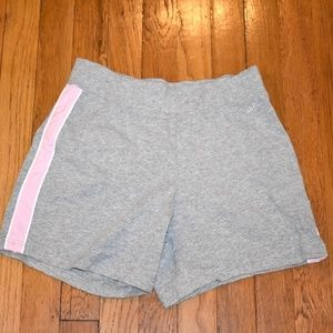 Athletech Grey and Pink Shorts-Size Small